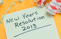Five Writing Resolutions To Make For 2013!