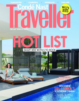 KAREN OSMAN FEATURED IN CONDE NASTE TRAVELLER